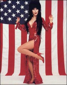 Who is this girl?   Elvira Mistress of the Dark
