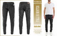 SMK DENIM&Co.: SMK DENIM&Co. | CALÇA TRAVEL BLACK&BLUE | 75.00€