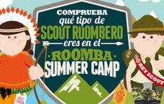 ¡Bienvenidos al Roomba Summer Camp! Demuestra lo buen Scout Roombero que eres.