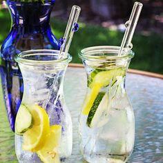 glassdharma's photo  featuring Weck Jars  & glass straws!