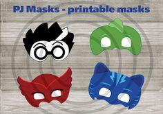 Instand DL PJ Masks Printable masks Printable NON by BB8jony