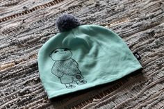 hand drawn with fabric pens, Mikko Mallikas (Alfons Åberg) beanie