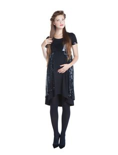 Maternity sequins! Get ready for Christmas fun!! www.nanarisematernity.com