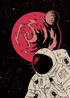 Astronaut - Luke Parker a.k.a. future-parker