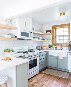 the prettiest kitchens on LaurenConrad.com
