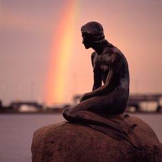 The Little Mermaid, Copenhagen, Denmark ♥
