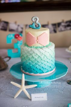 birthday for Athena .Cake for a Mermaid Party Little Mermaid Birthday, Little Mermaid Parties, Birthday Fun, Birthday Party Themes, Birthday Ideas, Birthday Cake, I Need Vitamin Sea, Mermaid Cakes, Party Cakes