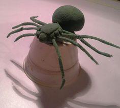 Araña de estereofom 2