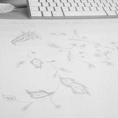 Pattern design progress.