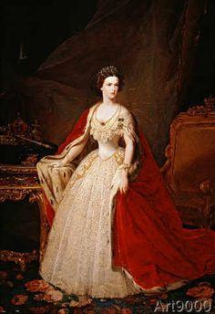 Giuseppe Sogni - Empress Elisabeth / Painting by Sogni