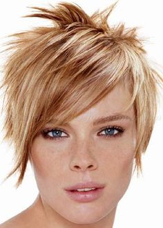 women hairstyles for short hair - spiky hairstyle for women