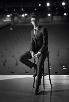 The new Giorgio Armani Made to Measure campaign featuring Dan Stevens, shot by John Balsom.