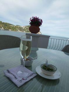 """Aperitivo, """"Miramare Sea Resort & Spa"""" (Hotel), Sant'Angelo, Isola Ischia Italia (Maggio)"""