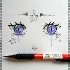 line drawing woman Realistic Eye Drawing, Manga Drawing, Drawing Faces, Drawing Tutorials, Art Tutorials, Painting Tutorials, Drawing Tips, Copic Art, Art Anime