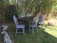 Beautiful custom built Contemporary Farmhouse table by Bambooserie Vintage