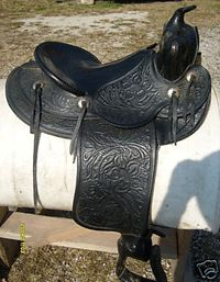 Hereford brand saddles vintage