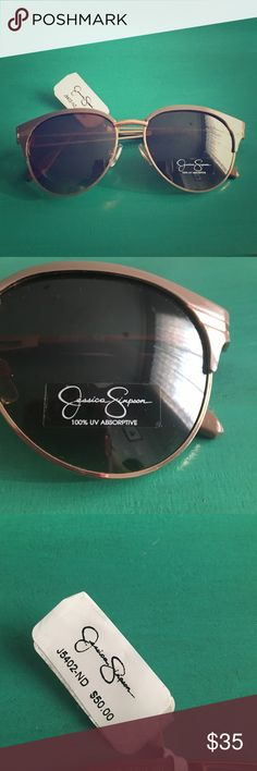 Jessica Simpson Fashion Sunglasses Super cute! Brand new with tags, Jessica Simpson sunglasses! Got these as a gift, and are not really my style so they have never been worn! Price negotiable! Jessica Simpson Accessories Sunglasses