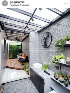 Check out these amazing small backyard and garden design ideas. Dirty Kitchen Design, Outdoor Kitchen Design, Home Decor Kitchen, Dirty Kitchen Ideas, Home Room Design, Laundry Room Design, Home Interior Design, House Design, Outdoor Laundry Rooms