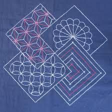 Resultado de imagen para japanese embroidery sashiko