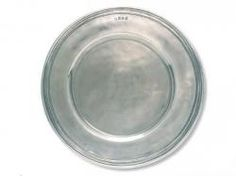 Match Pewter Toscana Charger, handmade in Italy