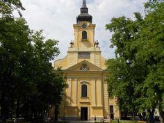Biserica Gyula Notre Dame, Building, Buildings, Construction