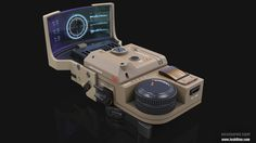 ArtStation - Futuristic Holosight, Josh Dina - Real Time - Diet, Exercise, Fitness, Finance You for Healthy articles ideas Sci Fi Weapons, Concept Weapons, Weapons Guns, Fantasy Weapons, Futuristic Technology, Art And Technology, Spy Gear, Future Weapons, High Tech Gadgets