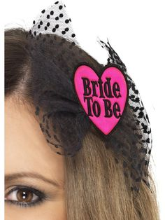 Bride To Be Hair Bow   Frojos.co.uk