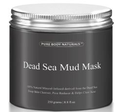 THE BEST Dead Sea Mud Mask fl. - Dead Sea Mud Mask Best for Facial Treatment Minimizes Pores Reduces Wrinkles and Improves Overall Complexion - Dead Sea Minerals Help to Pull Toxins Out of the Skin - Facial Mask Provides Relief from A. Acne Blemishes, Acne Scars, Dead Sea Mud, Dead Sea Minerals, Minimize Pores, Natural Moisturizer, Best Face Mask, Maquillage Halloween, Facial Treatment