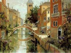 painting painting by skilled artist sizes and designs are acceptable price and good quality Cheap Paintings, Oil Painting On Canvas, Venice, Home And Garden, Mansions, House Styles, Artwork, Artist, Paintings