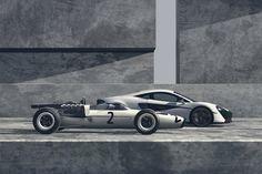 Zo vier je 50 jaar Formule 1 ervaring: McLaren 570S en M2B
