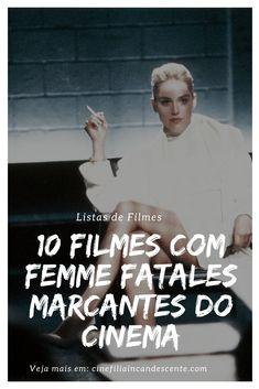 10 filmes com femme fatales marcantes do cinema. #filme #filmes #clássico #cinema #ator #atriz