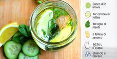 Detox Water: come preparare l'acqua disintossicante | Rimedio Naturale