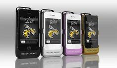 Stun Gun iPhone Case Anyone? #StunGun #iPhone #Case #YellowJacket #GADGETOSE