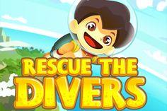 Rescue the Divers Game - ArcadeHole.com