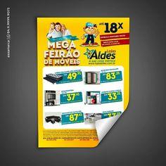 Encarte para o Mega Feirão de Móveis Lojas Aldes. #flyers #marketing #mkt #ad #advertising #publicidade #propaganda #design #graphic #inspire #inspiracao #business #moveis #loja #lojaonline #mega #eletro #casa #magazine #work #cool #nice #great #sale #socialmedia #digitalart #digital #anuncio