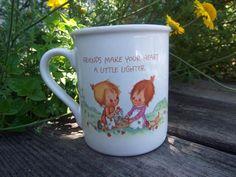 Vintage Hallmark Mug  Betsy Clark  by LuckyLenoreVintage on Etsy, $7.99