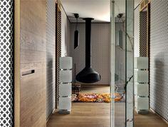 Luxurious and Innovative Condominium that Overlooks the Lugano Lakeshores - InteriorZine