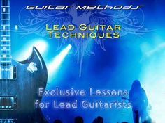 Exclusive Lessons for Lead Guitarists. If you're reading this, chances are – You want to be an awesome guitarist. You want to have the kind of talent that impresses YOU when you see it in other people. You probably want to get these skills FAST, but find the wealth of information out there a bit overwhelming. HERE. 1 wise investment – it will be the first and last you ever need to make on guitar tuition. EVER!