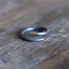 Assymetrical Keum-Boo Ring