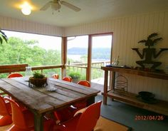 Screened Lakeview Dining Porch - Love!!