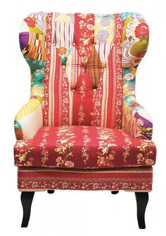 Wing fauteuil Patchwork - Kare Design