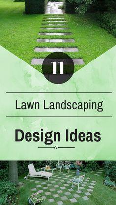 11 Lawn Landscaping Design Ideas - NaturalGardenIdeas.com