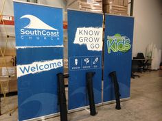 South Coast Church - (Dartmouth, MA) a new church plant realized the importance of good signage.