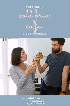I'm no coffee expert so say hello to my lovely husband Jesse who is! Let's talk about cold brew coffee (and oat milk)! Cold brew coffee is a super t. Nut Milk Bag, Bagged Milk, Frozen Cocktails, Hello To Myself, Cheese Cloth, Perfect Breakfast, Let Them Talk, Cold Brew, Say Hello