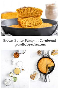 Pumpkin Cornbread – Browned butter makes this brown butter pumpkin cornbread a delight during Fall and for your Thanksgiving table!! This is the perfect Autumn bread.