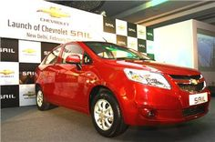 Chevrolet has launched the Sail saloon at a very competitive starting price of Rs 4.99 lakh for the base petrol variant.