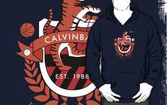 """Calvinball"" T-Shirts & Hoodies by thisisjoew Calvin And Hobbes, Hoodies, Sweatshirts, Sweater Hoodie, Nerdy, Style Me, Things I Want, Childhood, Cool Stuff"
