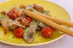 Photo de recette de poelée artichaut italienne parmesan tomates facile rapide…