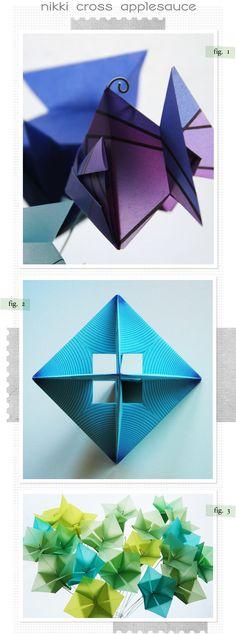 vellum paper origami Origami And Kirigami, Diy Origami, Origami Tutorial, Origami Paper, Vellum Paper, Paper Art, Paper Crafts, Diy Crafts, Modular Origami