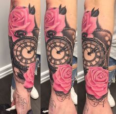 70 New Ideas Flowers Tattoo Forearm Colour